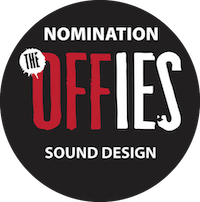 The Offies Nomination Sound Design Logo