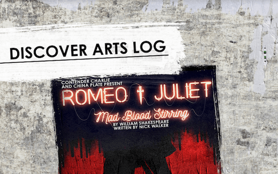 An image of the Romeo & Juliet - Mad Blood Stirring Discover Arts Log for Arts Award